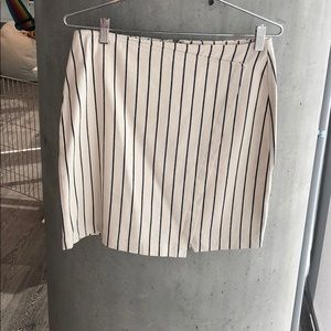 Madewell striped skirt